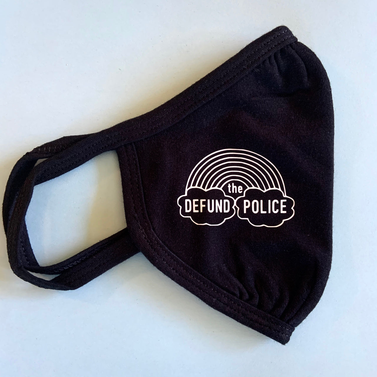 Defund the police face mask