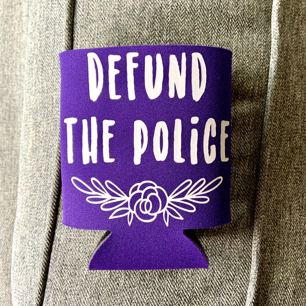 Defund the police can cooler