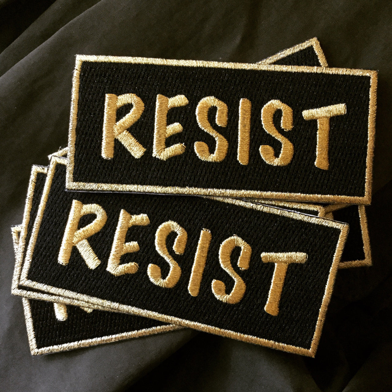 Resist patch - Radical Buttons