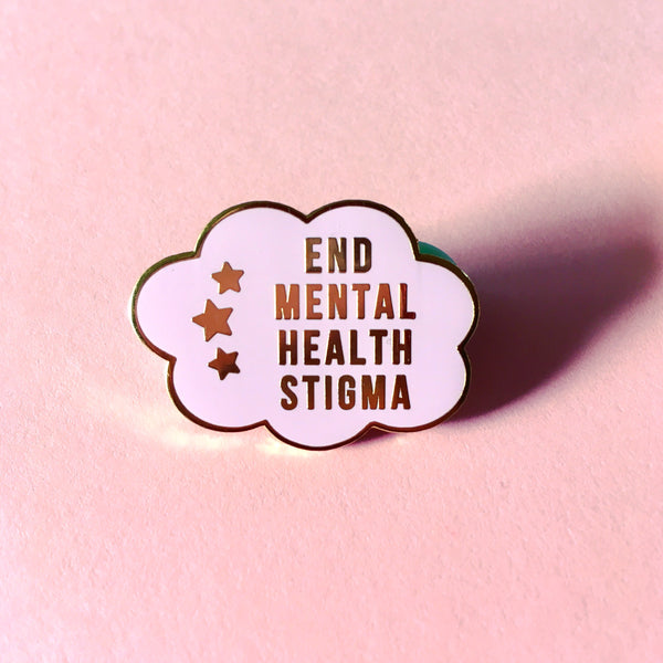 End mental health stigma - Radical Buttons