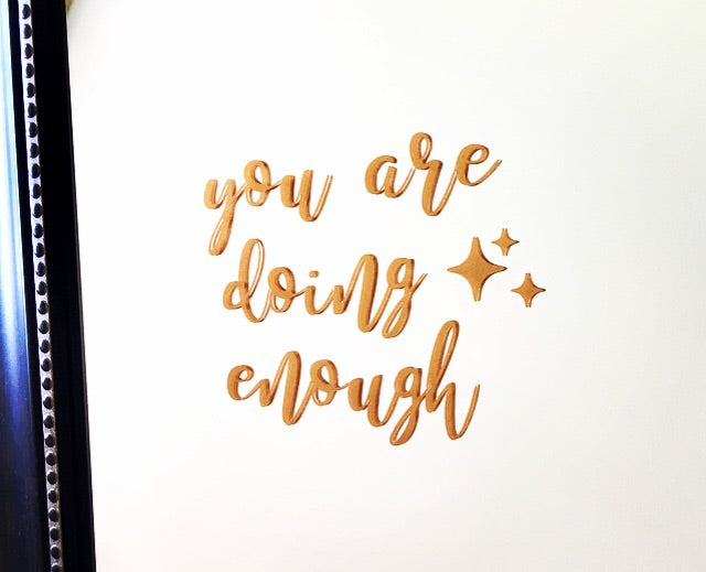 You are doing enough mirror decal - Radical Buttons