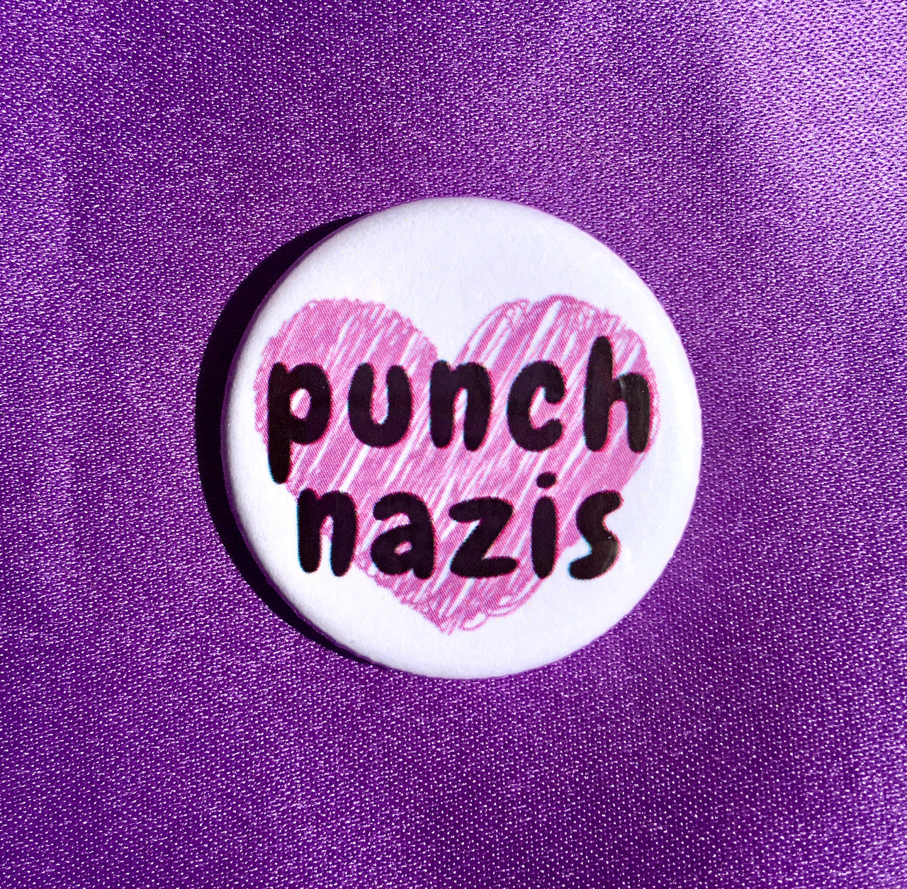 Punch Nazis - Radical Buttons