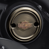 Harley-Davidson Brass Medallion - Right Side