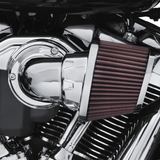 Screamin' Eagle Milwaukee-Eight Heavy Breather Performance Air Cleaner