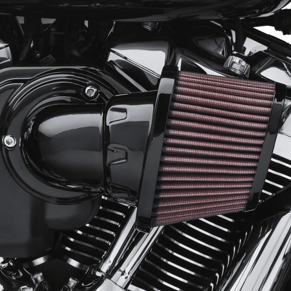 Screamin' Eagle Milwaukee-Eight Heavy Breather Air Cleaner ...