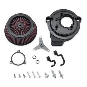 Screamin' Eagle Round Extreme-Flow Air Cleaner - Center Bolt