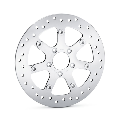 Harley-Davidson Turbine Polished Floating Brake Rotor