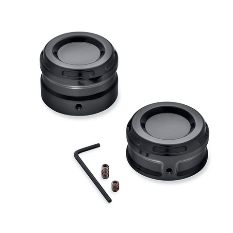Harley-Davidson Dominion Rear Axle Nut Covers