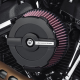 Screamin' Eagle Round Air Cleaner Cover - Ratchet