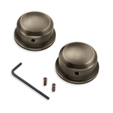 Harley-Davidson Brass Swingarm Pivot Bolt Covers