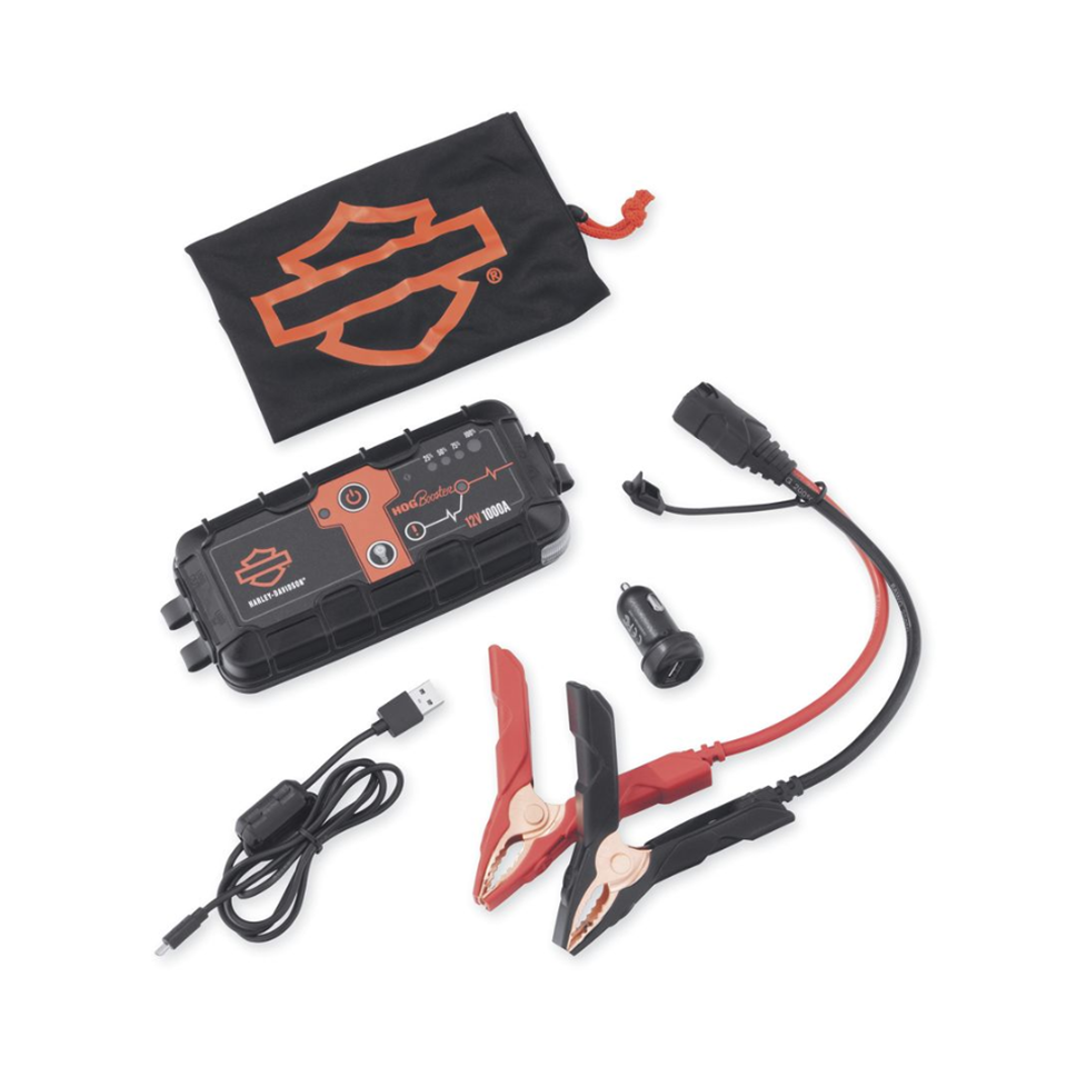 Harley Davidson Hog Booster Portable Battery Pack