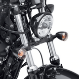 Harley-Davidson Front Turn Signal Relocation Kit