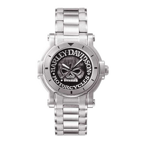 Harley-Davidson Willie G Skull Men's Watch
