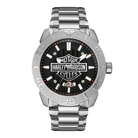 Harley-Davidson Raised Brake Level Men's Watch