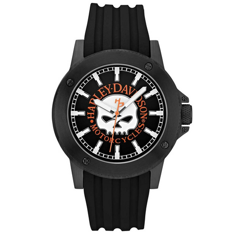 Harley-Davidson Classic Willie G. Skull Men's Watch
