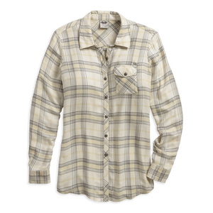 Harley-Davidson Relaxed Fit Plaid Women's Shirt