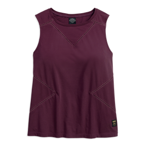 Harley-Davidson Seamed Women's Muscle Tee