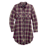 Harley-Davidson Plaid Roll-Tab Sleeve Women's Shirt Dress