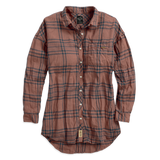 Harley-Davidson Plaid Loose Fit Wrinkle Women's Shirt