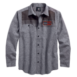 Harley-Davidson Textured Slub Men's Shirt