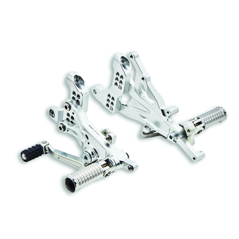 Ducati Adjustable Rider Footpeg Kit - Superbike