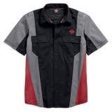 Harley-Davidson Performance Vented Colourblock Men's Shirt