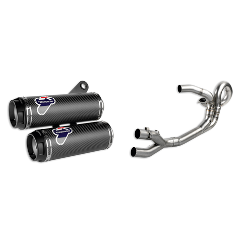 Ducati Complete Racing Exhaust System - Monster