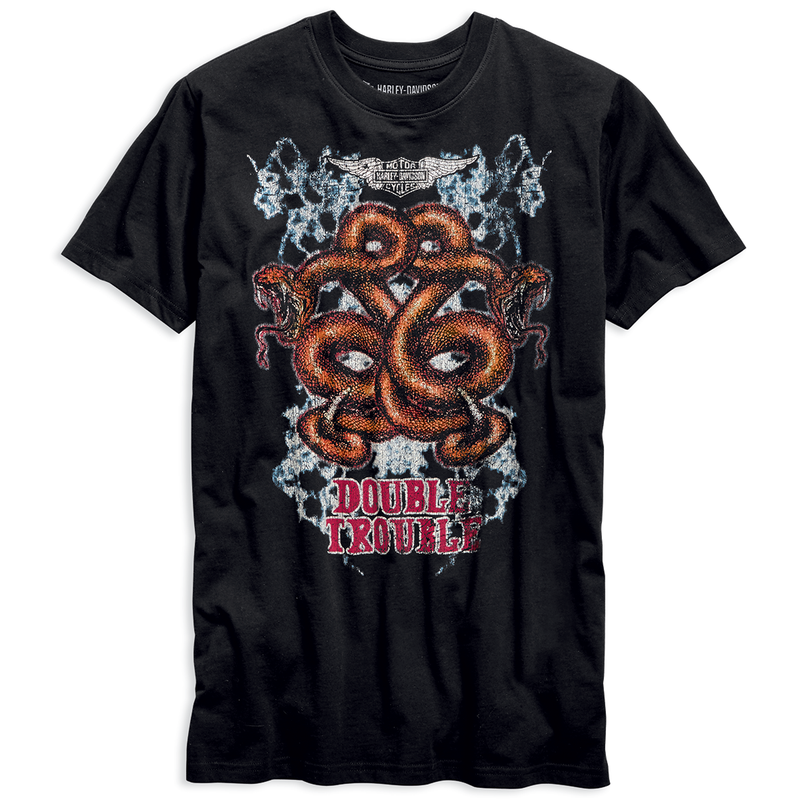 Harley-Davidson Double Trouble Men's Tee