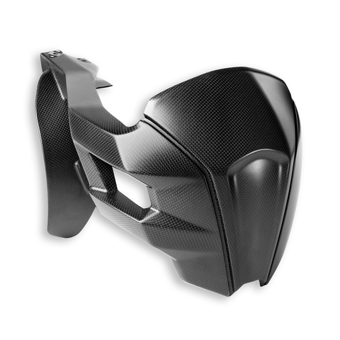 Ducati Carbon Rear Splashguard - Multistrada