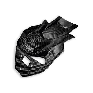 Ducati Carbon Number Plate Holder Cover - Multistrada 96980731A