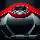 Ducati Carbon Tank Cover - Streetfighter V4