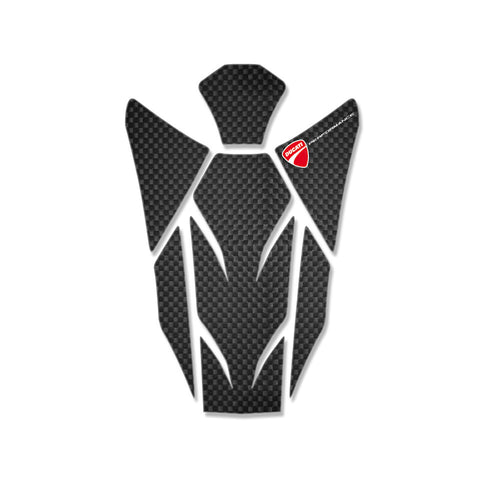 Ducati Carbon Fuel Tank Protector - Monster / Streetfighter 969A06710B
