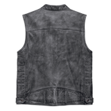 Harley-Davidson Veer Distressed Men's Leather Vest