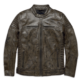Harley-Davidson Hamilten Washed Men's Leather Jacket