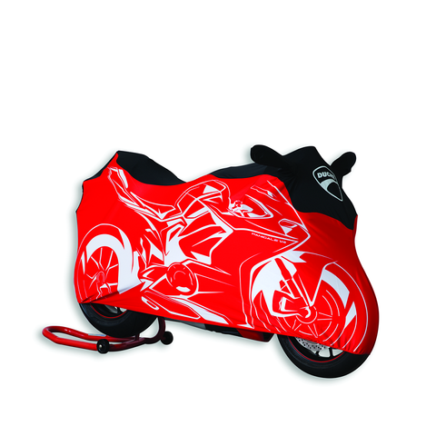 Ducati Motorcycle Cover - Pangiale V4