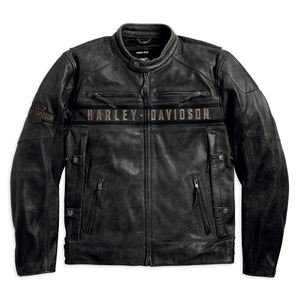 Harley-Davidson Passing Link Triple Vent Men's Leather Jacket