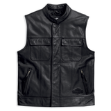 Harley-Davidson Foster Men's Leather Vest