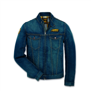 Ducati Scrambler Trucker Patch Men's Denim Jacket