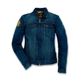 Ducati Scrambler Trucker Patch Women's Denim Jacket 98103390