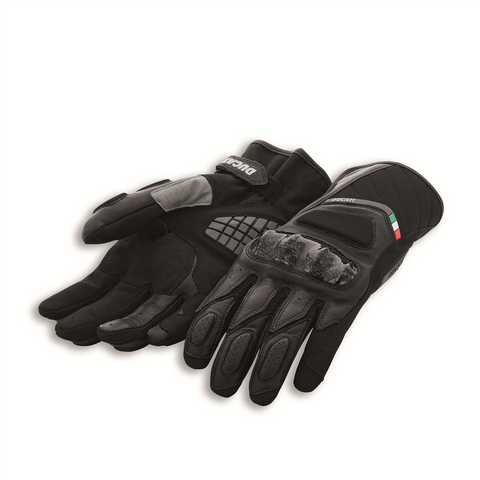 Ducati Sport C3 Men's Leather-Fabric Gloves 98103707