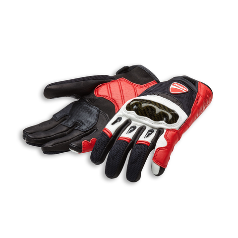Ducati Company C1 Men's Fabric/Leather Gloves