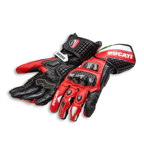 Ducati Corse C3 Men's Leather Gloves