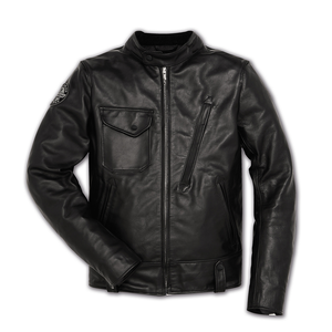 Ducati Scrambler Cafe Racer Men's Leather Jacket