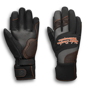 Harley-Davidson Vanocker Women's Under Cuff Gauntlet Gloves