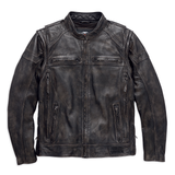 Harley-Davidson Dauntless Men's Convertible Leather Jacket