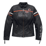 Harley-Davidson Miss Enthusiast H-D Triple Vent System Women's Leather Jacket