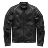 Harley-Davidson Embossed Logo Men's Padded Biker Leather Jacket