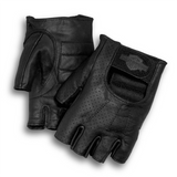 Harley-Davidson Perforated Men's Fingerless Gloves