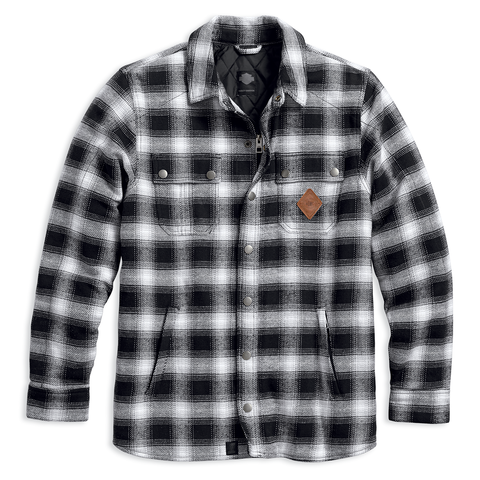 Harley-Davidson Reinforced Men's Riding Shirt Jacket