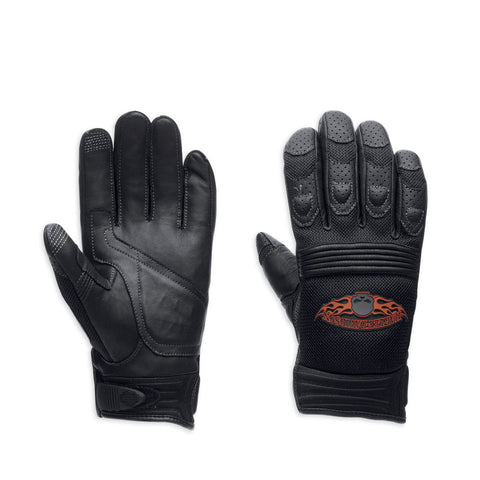 Harley-Davidson Skull Touchscreen Tech Men's Gloves 98252-13VM